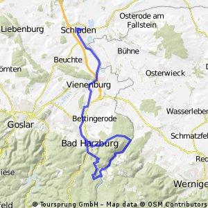 Radwandern: Bad Harzburg - Eckertalsperre - Schladen