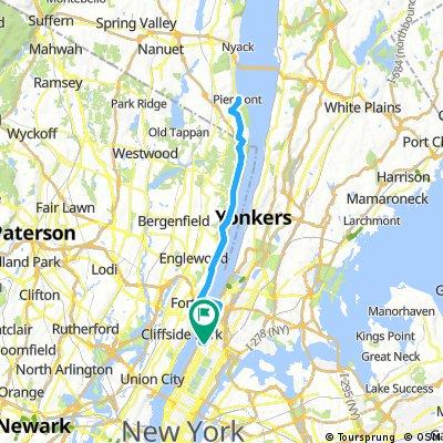 NYC ↔ Piermont