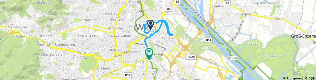 bike tour through Vienna