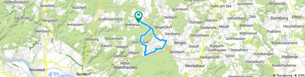 Ausfahrt durch Wittgert
