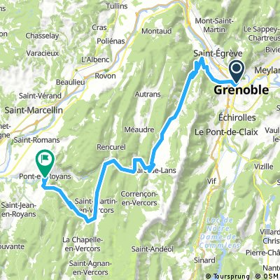 2016 Ride Day 151 - Grenoble to Pont-en-Royans