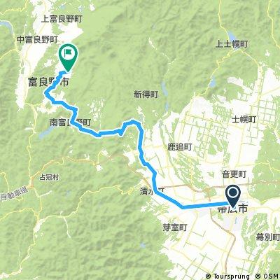 2009/08/12帯広-富良野