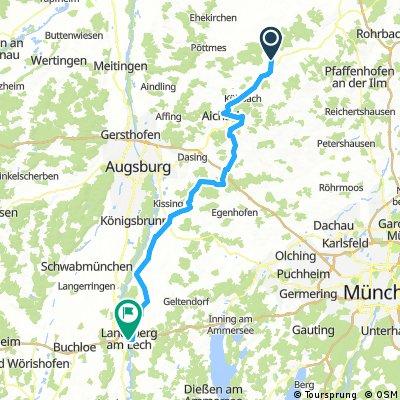 Schrobenhausen - Landsberg am Lech