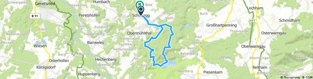 Dzell Kirchsee Training ca16km