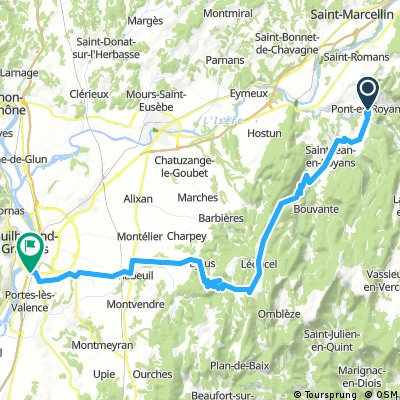 2016 Ride Day 152 - Pont-en-Royans to Valence