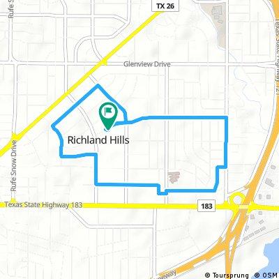 Brief bike tour through Richland Hills