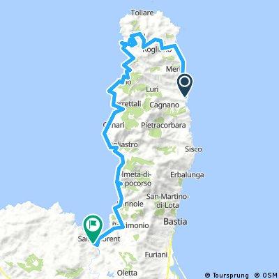 2016-09-02 Santa Severa-Macinaggio-Tollarre-Pino-Saint-Florent