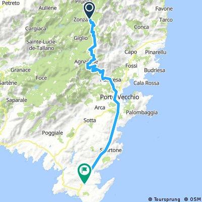 2016-09-10 Zonza - Col Illarata - Lospedale - Porto Vechio - Bonifacio