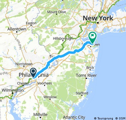 Philly to NYC