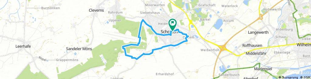 Rundtour 2014 Schortens 14 km