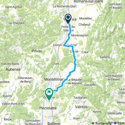 2016 Ride Day 153 - Valence to Donzère
