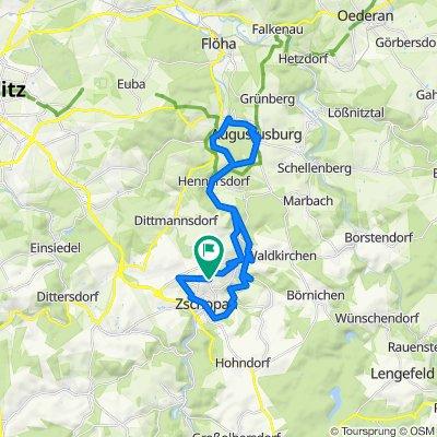 Trail-Runde Augustusburg