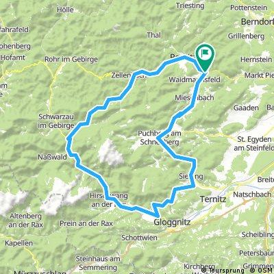 around Schneeberg
