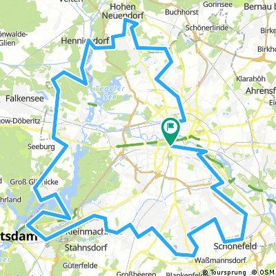 """Geschichtliche Fahrradtour - """"Berliner Mauer"""""""