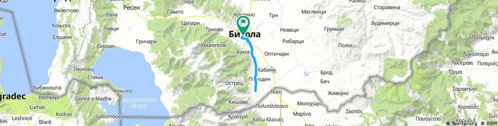 Long bike tour from September 16, 16:30