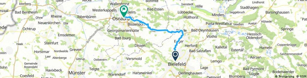 Bielefeld - Bünde - Osnabrück
