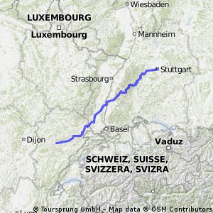 Stuttgart - Besancon ( 0.2 beta)