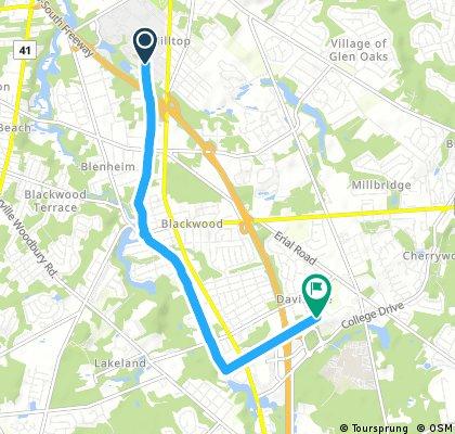 Short bike tour from September 17, 10:06