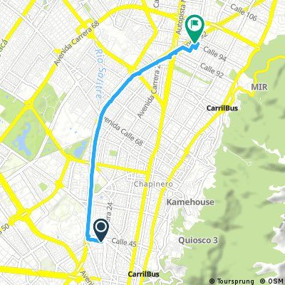 Quick ride from 17 de septiembre 1:11 PM