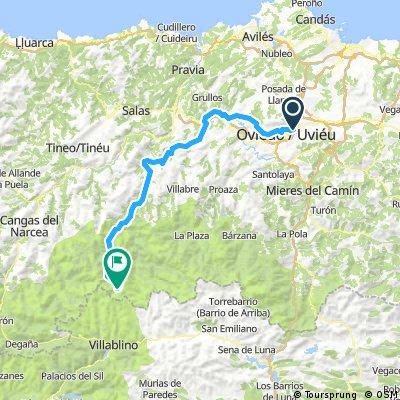 Oviedo - Brañas La pornacal