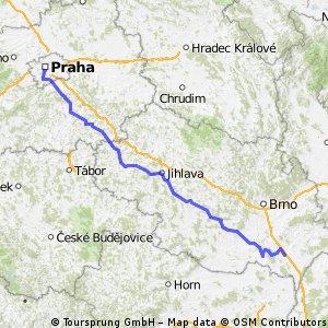 Praha - Pálava