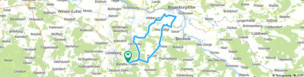 58 km