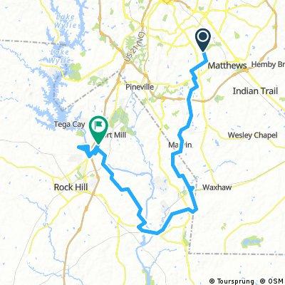 Catawba River Route