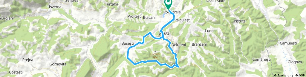 Start Ponoarele MTB Race 2016 Editia a II a - Traseu Hobby Cheile Balutei