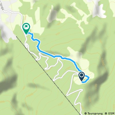 Straja Enduro Flow Trail Track1 Part1 Easy