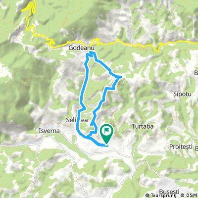 Karst Isverna - Traseu Scurt