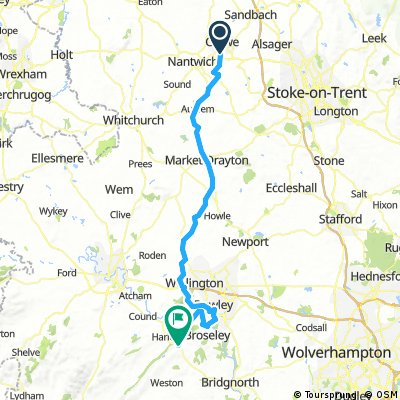 50 - Crewe to Much Wenlock