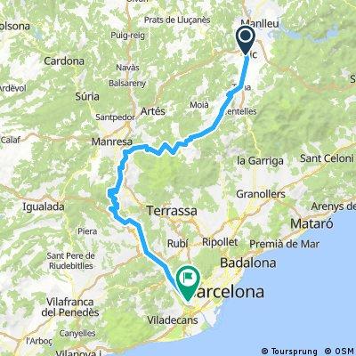 BSB 2017 11.päev Vic-Montserrat-Barcelona