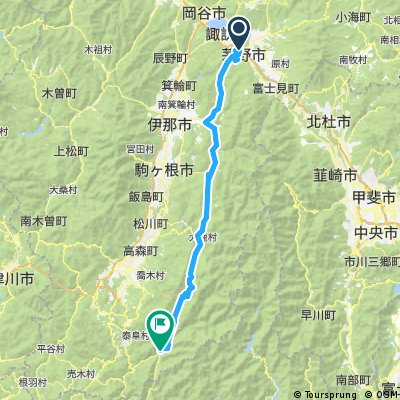 2010/08/07茅野~浜松(1日目)