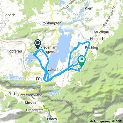 Bannwaldsee Runde