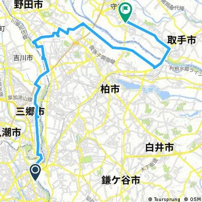 2013/05/18守谷往復
