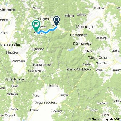 Catrusa - Sanzieni - Carpineni - Valea Uzului - Darmanesti - Comanesti - Cosnea