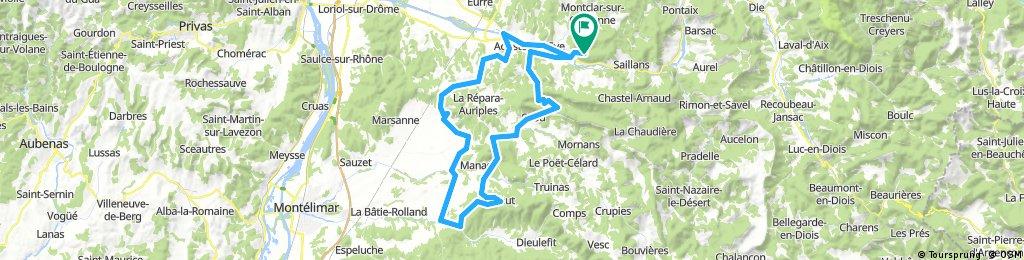 En Drôme Provencale La Bégude de Mazenc