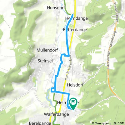 ride from 21/09/16 19:45