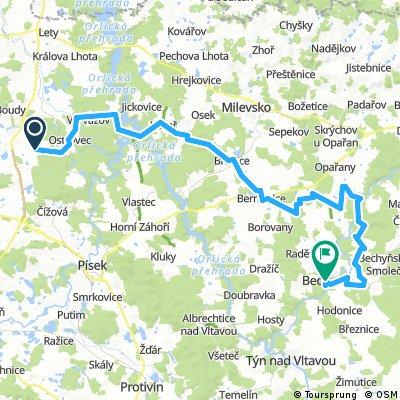 Pension Fortovna Cerhonice - Route B