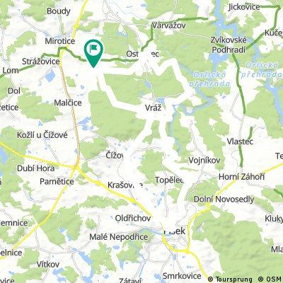 Pension Fortovna Cerhonice - Route C