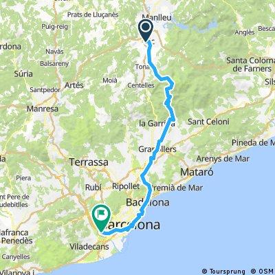 BSB 2017 viimase etapi alternatiiv Vic - Barcelona