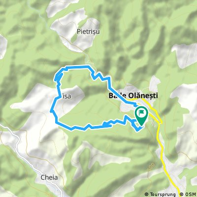 Circuit Olănești - Tisa