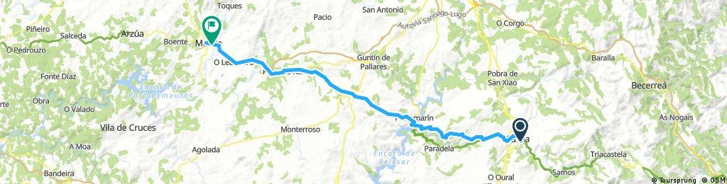 Camino Francés Day 7 Sarria → Melide