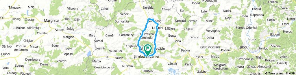 simleu-ilisua-sarmasag-moiad-maieriste-uileac-simleu=36,67km