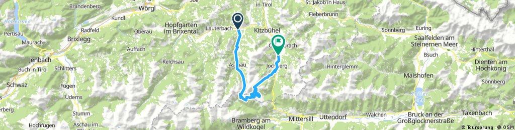 zweitausenter Aurach bei Kitzbühel