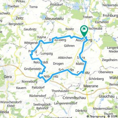 Altenburg, Pölzig, Beerwalde, Posterstein, Gössnitz, Altenburg