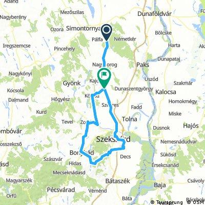 Vajta-Szálka 135km