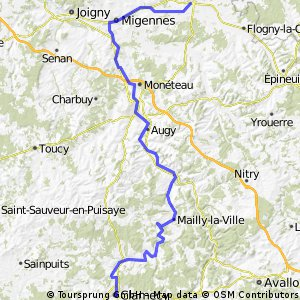 Route Bourgondie - 1