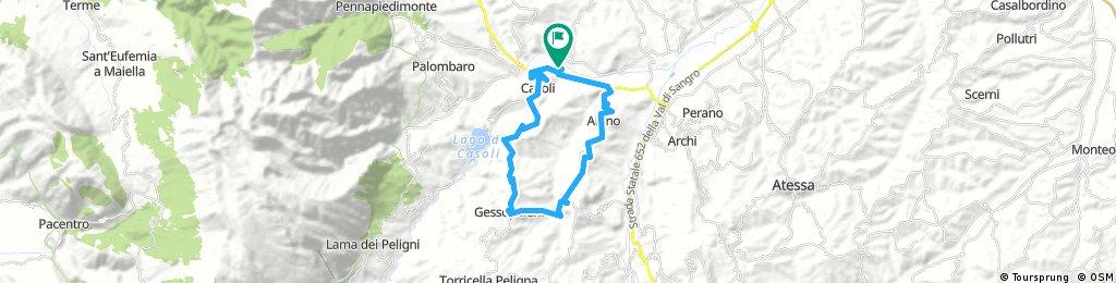 Casoli - Gessopalena - Roccascalegna - Casoli