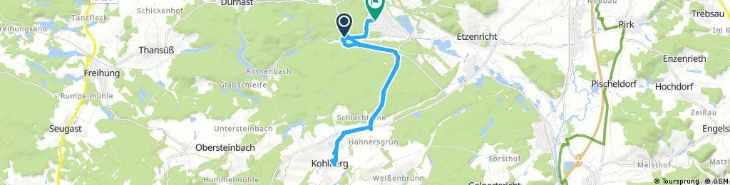 Weiherhammer To Kohlberg Kindergarten
